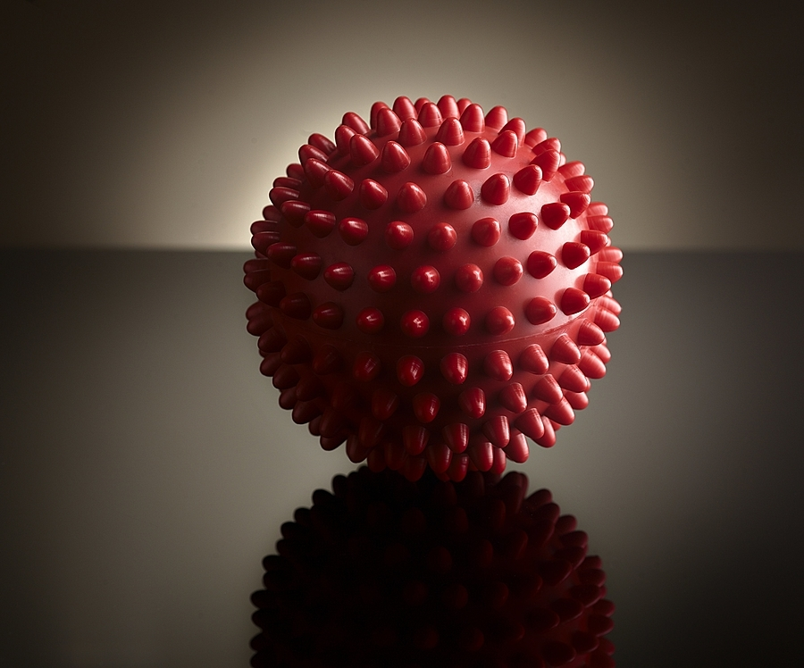 Red massage ball | ZEISS MAKRO PLANAR F2.0 100MM <br> Click image for more details, Click <b>X</b> on top right of image to close