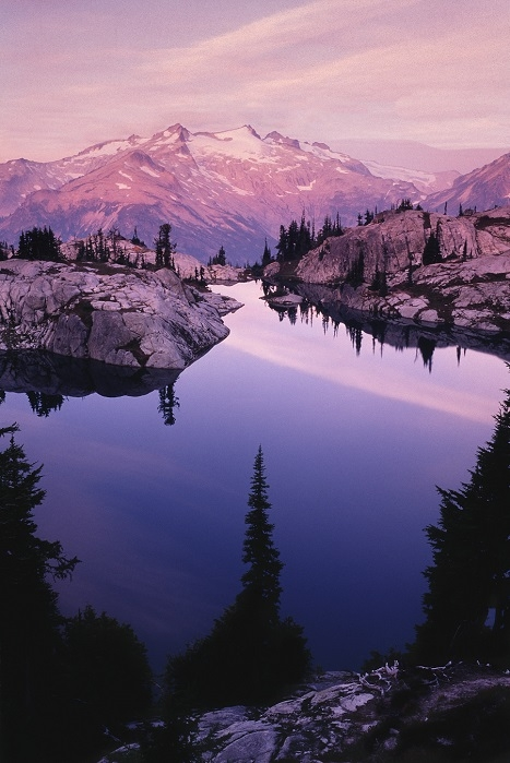 Lower Robin Lake, Washington Cascades. | LENS MODEL NOT SET <br> Click image for more details, Click <b>X</b> on top right of image to close
