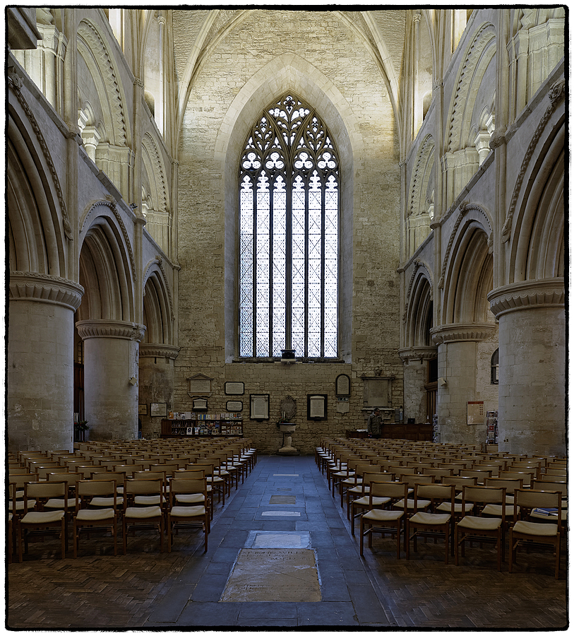 The Nave, Malmesbury Abbey, Wiltshire, England | ZEISS DISTAGON F2.8 21MM <br> Click image for more details, Click <b>X</b> on top right of image to close