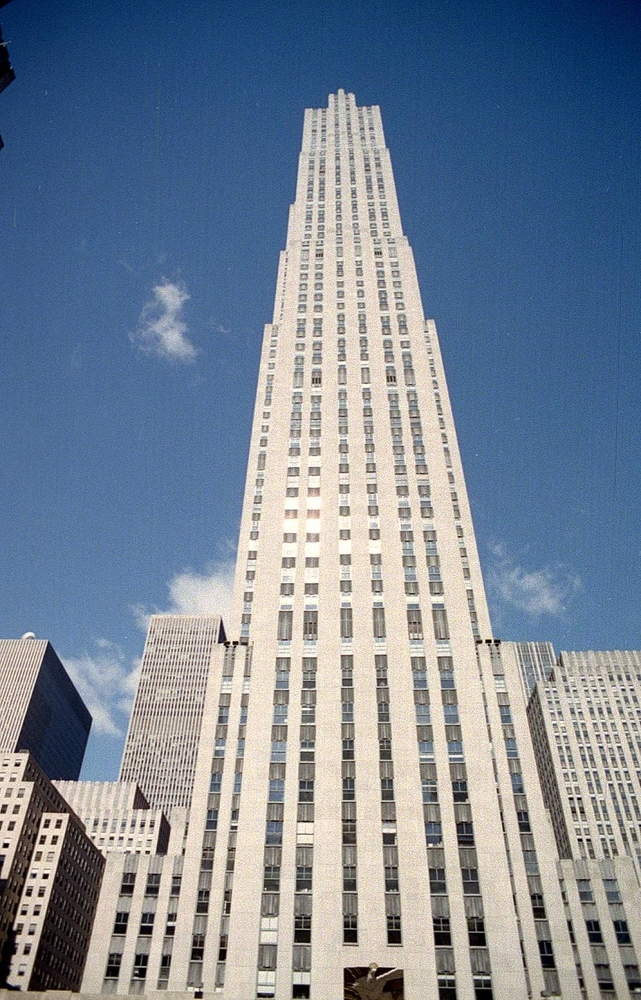 The Rockefeller Centre NYC | ZEISS JENA 24MM F2.8 <br> Click image for more details, Click <b>X</b> on top right of image to close